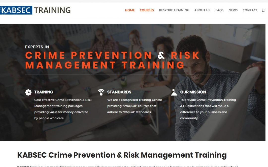 New KABSEC Training Website Launched
